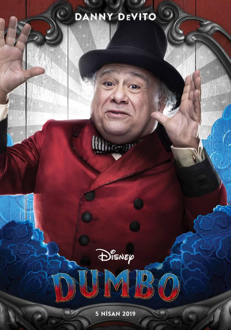 Dumbo Filminden Karakter Afişleri Geldi!